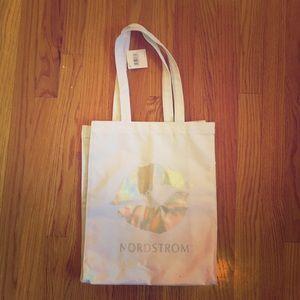 New NORDSTROM White Reusable Tote Bag